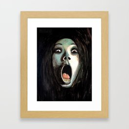 Kayako Saeki: The Grudge Framed Art Print