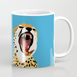 Screaming Cheetah Coffee Mug