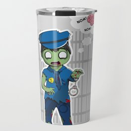 Zombie Police Travel Mug