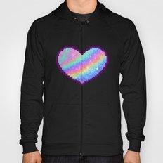 Holographic Heart Hoody
