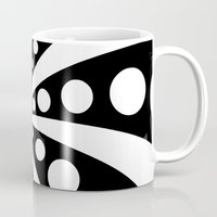 ed sheeran Mugs featuring Ed Wood by Naked N Pieces