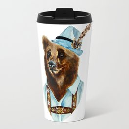 Bear-Varian  Travel Mug