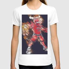 basketball player art 2 T-shirt
