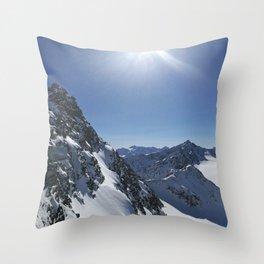 Bright Light Throw Pillow