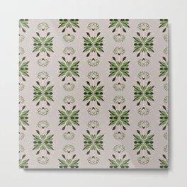 Wild plant pattern 1d Metal Print