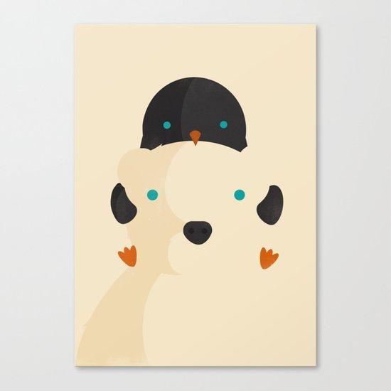 Snow Buddies Canvas Print
