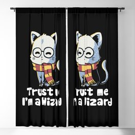 Trust me I'm a wizard Blackout Curtain