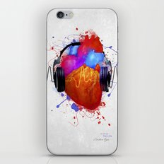 No Music - No Life iPhone & iPod Skin
