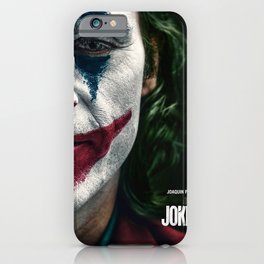 Joker Movie Poster, Joaquin Phoenix Poster, Movie Poster Printable Wall Art, Digital Downloads, Home Decor Wall Art, High Quality Photo iPhone Case