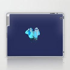 Blue Girls Laptop & iPad Skin