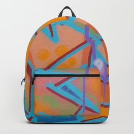 graffiti / street art artwork pattern Backpack
