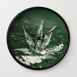Mari-A-Juana Wall Clock