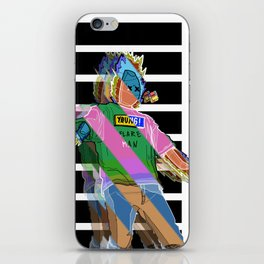 Flare Man iPhone Skin