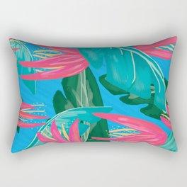 Summer glam print Rectangular Pillow