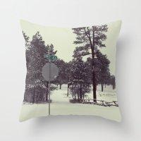 colorado Throw Pillows featuring Colorado. by Cynthia del Rio