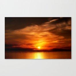 Eternal Sunset Canvas Print