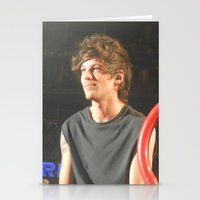 louis tomlinson Stationery Cards featuring Louis Tomlinson by Halle