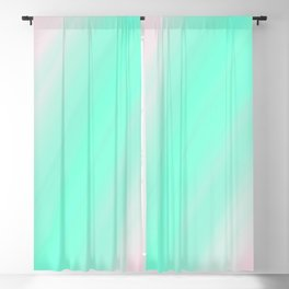 Pastel Colours Blackout Curtain