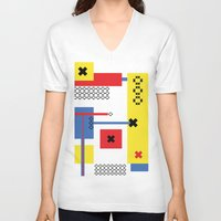 play V-neck T-shirts featuring Play by infloence