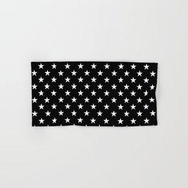 Stars (White/Black) Hand & Bath Towel