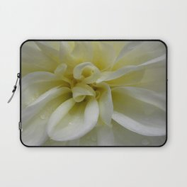 Nature's Dance in White Laptop Sleeve