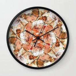 kaleidoscope - Pencil Sharpenings Wall Clock