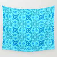 turquoise Wall Tapestries featuring turquoise. by 2sweet4words Designs