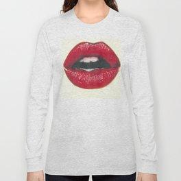 Lush - Red Lips Long Sleeve T-shirt
