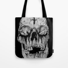 Black blooded Tote Bag