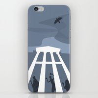 haunted mansion iPhone & iPod Skins featuring The Haunted Mansion by Minimalist Magic - Art by Tony Sherg