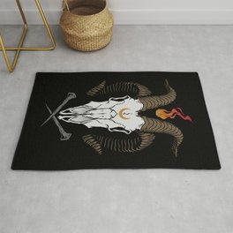 Occult Goat Rug