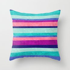 Stripes Askew Throw Pillow