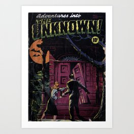 THE UNKNOWN (1948) Art Print