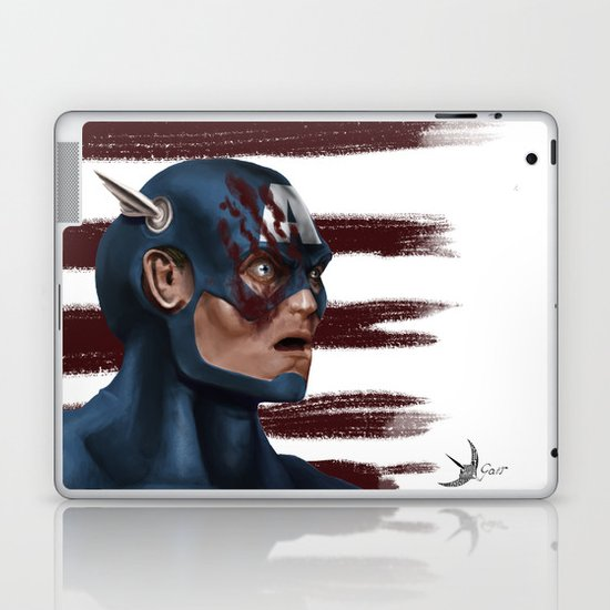 THE FACE COLLECTION - CAPTAIN AMERICA Laptop & iPad Skin