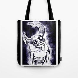 Meep, the Idiot Devil Boy Tote Bag