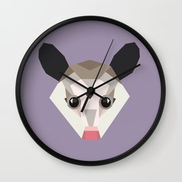 Possum Wall Clock