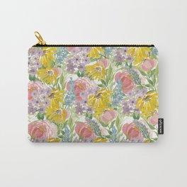 Floral Boquet Carry-All Pouch