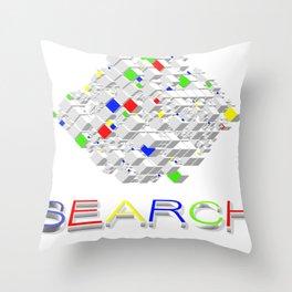 Search  Throw Pillow