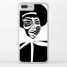 Nina Simone Clear iPhone Case