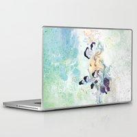 mushroom Laptop & iPad Skins featuring mushroom by ARTION