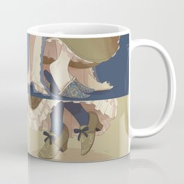 Female presenting ankles Coffee Mug