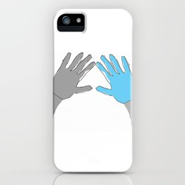 Perfection is Boring iPhone Case