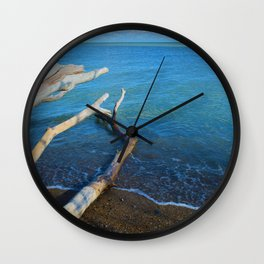 Lake Erie from Point Pelee National Park, Canada Wall Clock