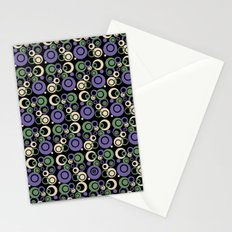 Retro Bubbles #1 Stationery Cards