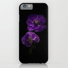 Two Purple Anemones iPhone 6s Slim Case