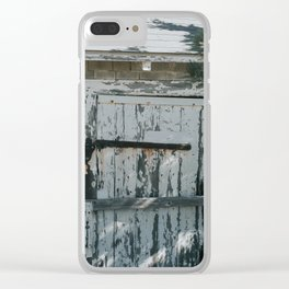 Abandoned Shack Clear iPhone Case