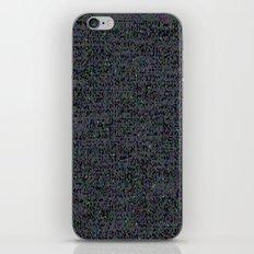 neon_snow iPhone & iPod Skin