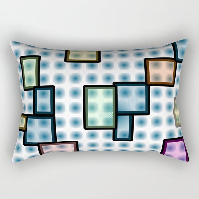 zappwaits glass Rectangular Pillow
