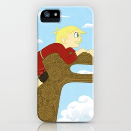 Young Coal and Rollo iPhone Case