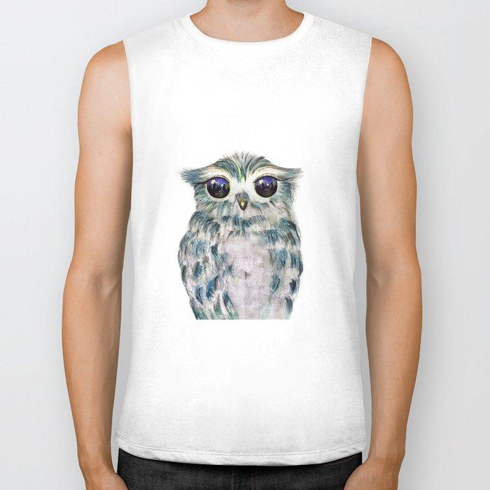 Little Owl Biker Tank